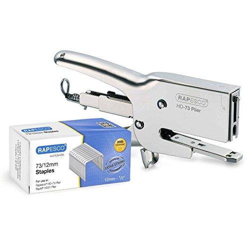 Rapesco HD-73 Agrafeuse Pince Metal Heavy Duty Emballage avec...