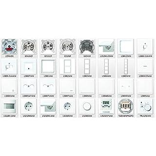 Jung LS-Design Alpinweiß, Schalter & Steckdosen - Set Auswahl