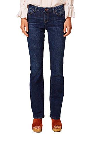 ESPRIT-Damen-Bootcut-Jeans-088EE1B019-Blau-Blue-Medium-Wash-902-W28L32