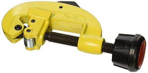 Preisvergleich Produktbild 3mm-32mm 1/20,3cm-15/40,6cm Schneiden Kupfer Eisenrohr Tube Cutter 13,2cm gelb schwarz