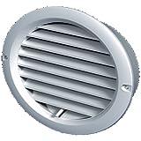 260x190mm Grille da/ération Blanc m/étallique avec moustiquaire Grille de ventilation metallique