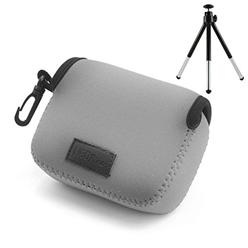 first2savvv-qsl-nes-11-grey-neoprene-camera-case-bag-for-canon-g15-sx170-sx160-sx150powershot-sx720-