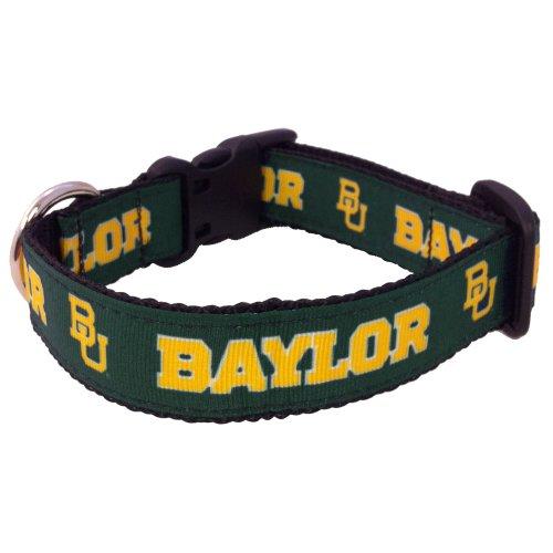All Star Dogs NCAA Baylor Bears Collegiate Hundehalsband, Größe M -