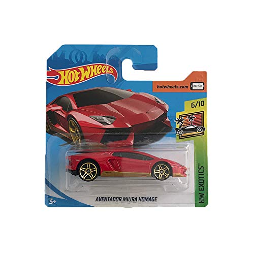 Hot Wheels Lamborghini Aventador Miura Homage HW Exotics 239/365