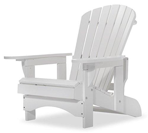 Original Dream-Chairs since 2007 Adirondack Chair Comfort Recliner de Luxe in weiß