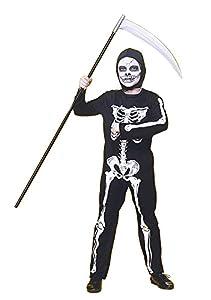 Rubies - Disfraz infantil de esqueleto, 8-10 años (Rubie