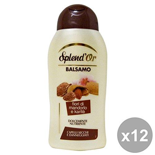 Set 12 SPLEND'OR Balsamo Nutriente MANDORLO-KARITE 300 Ml. Prodotti per capelli