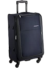 PRONTO Paris Polyester 68 cms Blue Suitcase (6454 - BL)