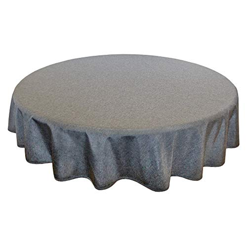 hrazit, 160 cm rund, Fleckschutz, Tischdecke für das ganze Jahr ()