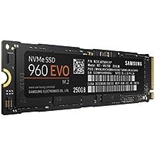 Samsung MZ-V6E250BW SSD 960EVO, 250GB, M.2, NVMe, Negro/Naranja