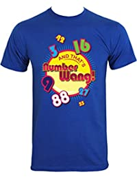 And That's Numberwang! Men's Blue T-Shirt