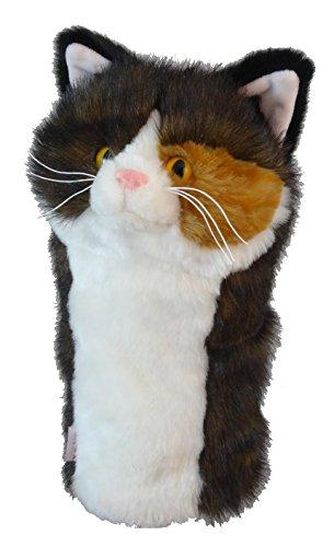 Daphne 's Schlägerkopfhüllen Torti Katze Golf Club Head Cover für 460CC Driver -