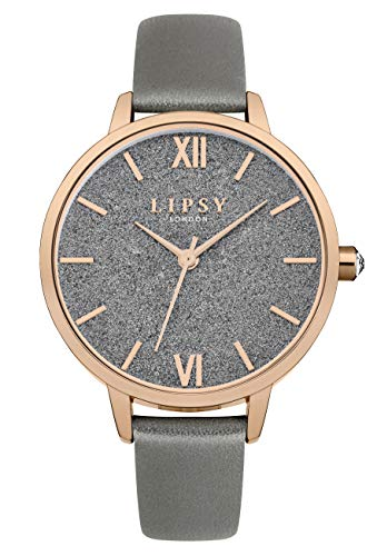 Lipsy Womens Analogue Classic Quartz Watch with PU Strap LP615 Best Price and Cheapest
