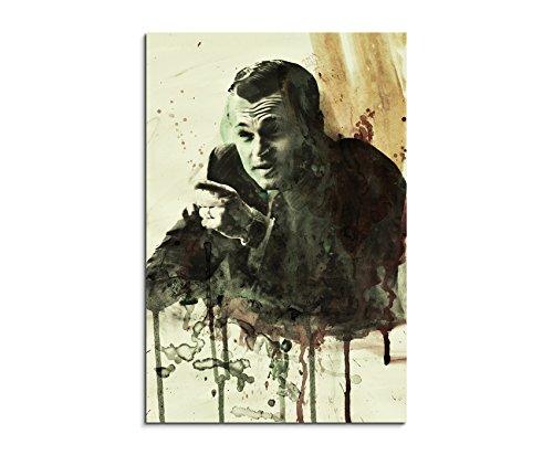 leonardo-dicaprio-anzug-the-wolf-of-wall-street-film-90x60cm-aquarell-art-bilder-unikat-leinwandbild