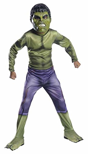 Banner Bruce Kostüm (Marvel–i-610428m–Kostüm für Kinder–Klassische Hulk–Avengers 2–Größe)