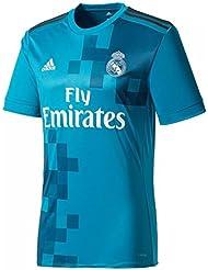 adidas 3 Jsy Camiseta 3ª Equipación Real Madrid 2017-2018, Hombre, Azul (Azuint / Gripur / Blanco), M