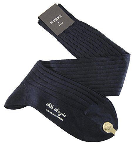 -3-pares-calcetines-de-hombre-largos-a-canale-hasta-la-rodilla-100-algodon-mercerizado-hilo-escocia-