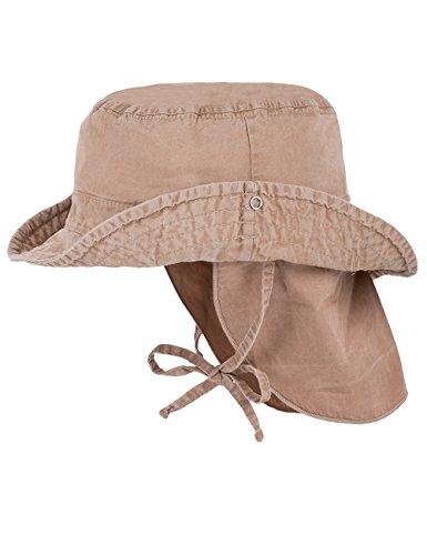 maximo Baby-Jungen Cowboyhut, Waschoptik Sonnenhut, Beige (Sand 10), 49
