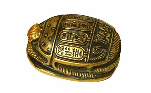 Egipto Figura Decorativa Coleccionable Estatua Escarabajo Amuleto 3
