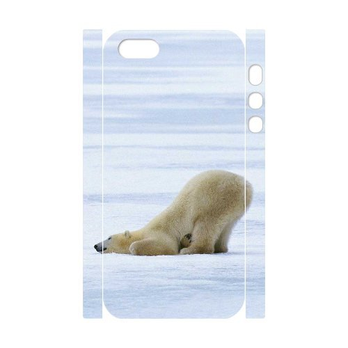 LP-LG Phone Case Of Polar Bear For iPhone 5,5S [Pattern-6] Pattern-2