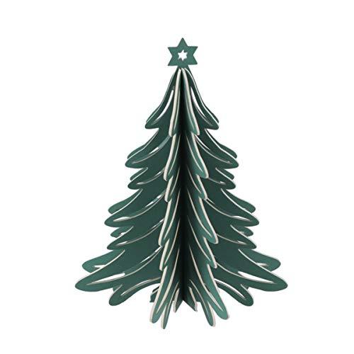 STOBOK 1 Pieza 3D Árbol de Navidad de Papel Mini Árbol de...
