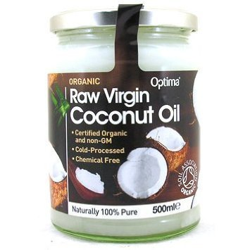 Raw Virgin Coconut 500ml (Pack of 2) from Optima