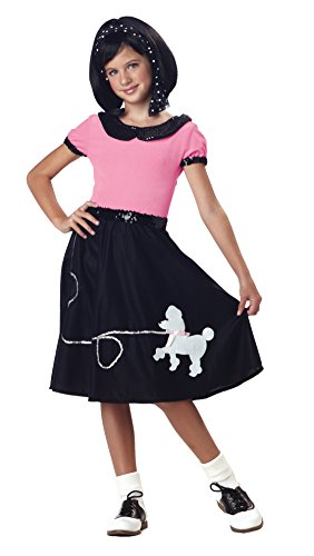50'S Poodle Skirt Costume Child Tween Small ()