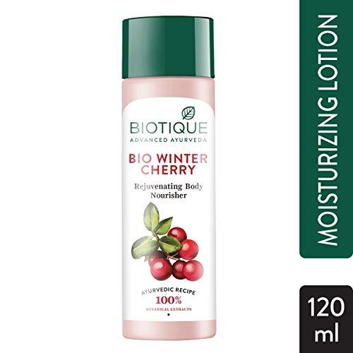 Biotique Winter Cherry Body Lotion, Transparent, 120 ml