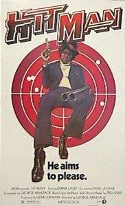 Le Hit Man US (blaxploitation) Grande Film Papier poster Dimensions env. 100x 70cm plus grand Films Collection dirigée par George Armitage. Mettant En Bernie Casey, Pam Grier, Roger E. Mosley. Seventies Soul Cinéma.