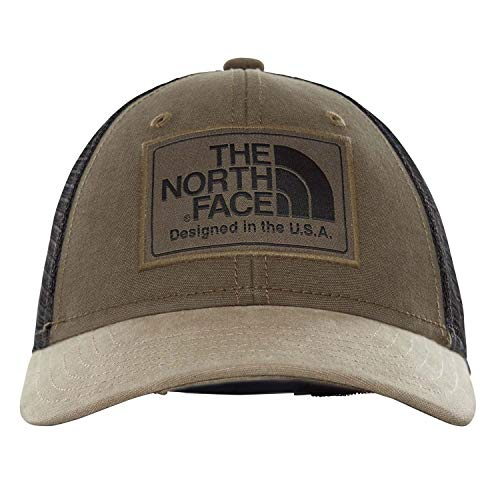 34d5caa4fd The North Face Youth Mudder Trucker Ball Casquette Mixte Enfant, New Taupe  Green/TNF