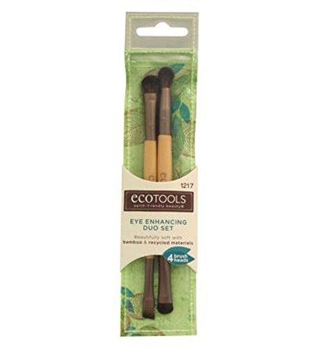 Ecotools Oeil Améliorer Duo Brush Set - Lot De 2