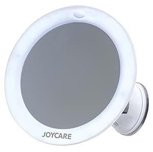 Joycare Miroir lumineux Grossissant à Ventouse