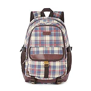 The Vertical Kruger Polyester 24 Ltrs Navy School Backpack (8903496093391)
