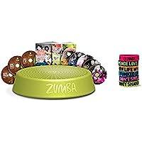 Preisvergleich für Zumba-Set Incredible Results Gewichtsverlust-Fitness-mit 8 DVDs + Rizer + 6 Zumba Armbänder in versch. Farben und Sprüchen