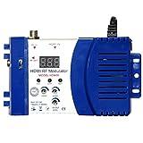 Modulatore HDM68 Modulatore RF digitale HDMI Convertitore AV a RF Modulatore portatile VHF UHF PAL/NTSC standard (Colore: blu) -1