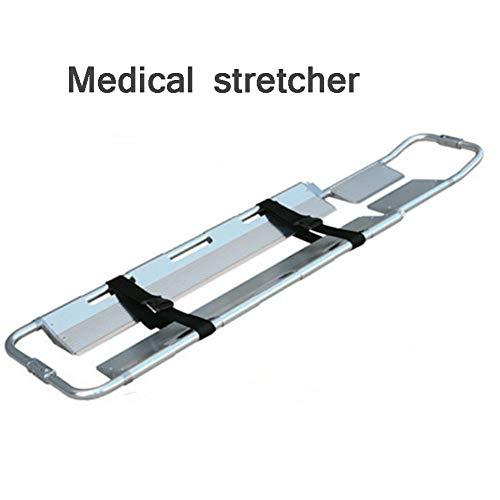 Bahren Faltbarer alu-niedrigspanner, verstellbare länge, Notfall-trage, erste Hilfe, medizinische Bruch-Rettung