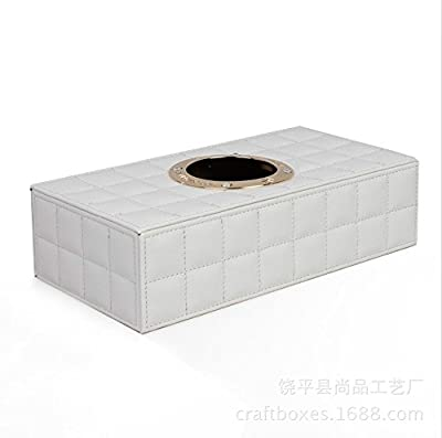 Contever® PU Leather High-end and Fashion Car Tissue Box Decorations of Home or Office - inexpensive UK light store.