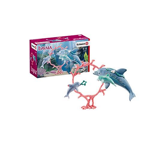 Schleich 41463 - Delfin-Mama mit Babies