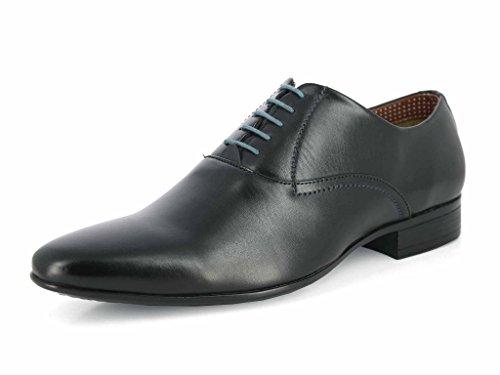 Alberto Torresi Men's Black Leather Sandals
