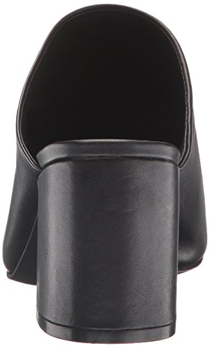 Ciabatta a fascia Steve Madden Infinity in pelle nera Black