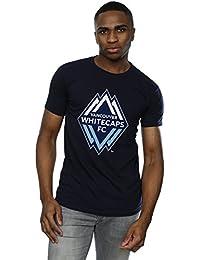 Majestic Homme MLS Vancouver White Caps Logo T-Shirt XXX-Large Marine