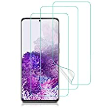 ESR TPU Screen Protector Compatible with Samsung Galaxy S20 [2-Pack + 1 Extra for Practice] [Full-Coverage Liquid Skin] [Easy Installation Kit] for the Galaxy S20