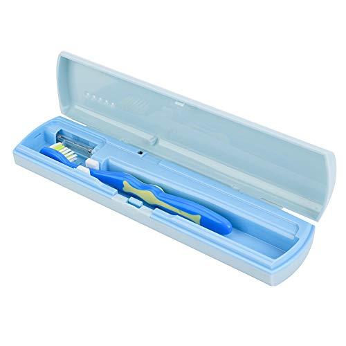Esterilizador portátil antibacterial del cepillo de dientes de la luz ultravioleta, limpiador del cepillo...