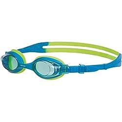 Speedo Sea Squad Skoogle Jr - Gafas de natación para niños 2-6 años, color azul / verde