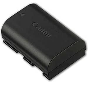Canon LP-E6 Rechargeable Lithium-Ion Battery Pack (7.2V, 1800mAh) for EOS - Black
