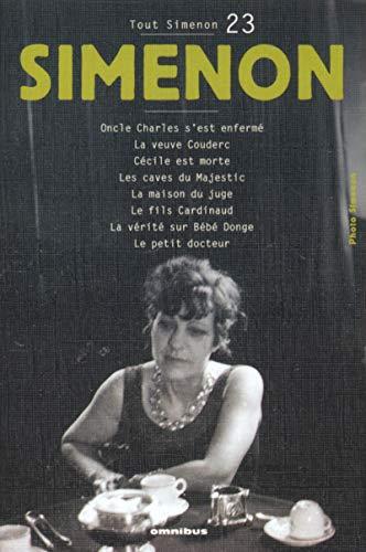 Tout Simenon, tome 23