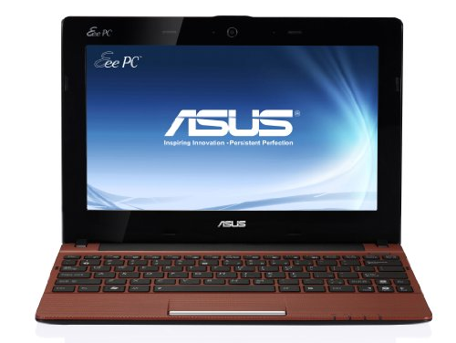 Asus R11CX-RED002S 25,7 cm (10,1 Zoll) Netbook (Intel Atom N2600 , 1,6 GHz, 1GB RAM, 320GB HDD, Win 7 Starter) rot Netbook 1 Gb Ram