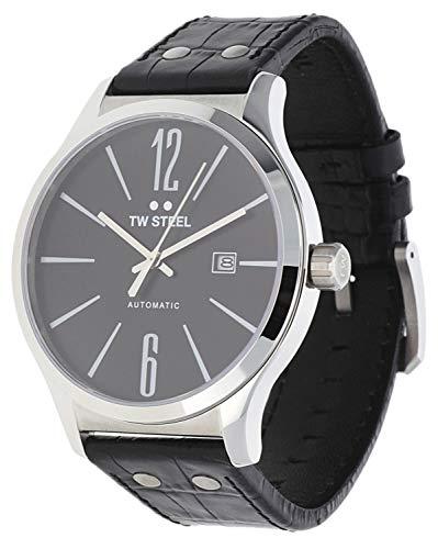 5314b8bf6b3c TW Steel Hombre Reloj de pulsera Slim Line NEGRO TW de 1310 – 1 ...