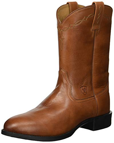 ARIAT - Männer Heritage Roper Roper/Lacer Western Schuhe, 41.5 M EU, Naturally Cognac Lacer Boots