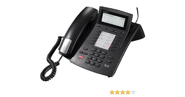 AGFEO ST22 S0 UP0 Telefon Systemtelefon Silber  gut erhalten